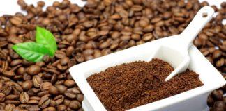 bột cà phê dưỡng da