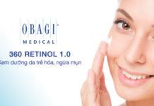 Review kem mụn Obagi 360 Retinol 1.0 có tốt không