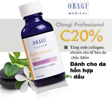Chống lão hóa cho những nàng thức khuya- serum chống  lão hóa Obagi